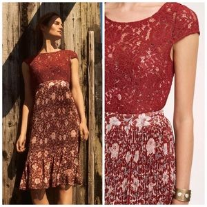 47cd7780f8b1 Anthropologie Dresses - Anthropologie Tracy Reese Lace Arcadia Midi Dress
